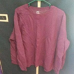 Plum colored sweatshirt